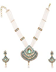 Arnav Creations Metal Multi-Strand Necklace Set For Women (ACN42)