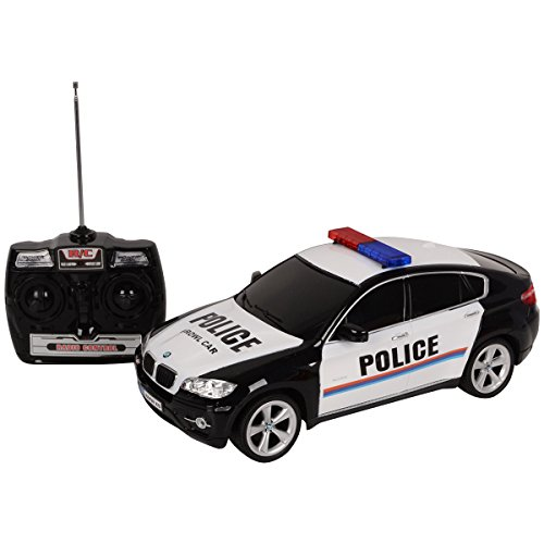 goplus-114-bmw-x6-r-c-ferngesteuert-auto-polizeiauto-lizenz-modell-top-police-schwarz