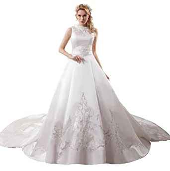 ImPrincess Wedding Dress Vintage Style NOip4 5696 At Amazon Womens Clothing Store