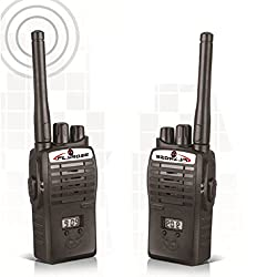 InterPhone a New generation Portable Walkie Talkie with Time Display ( Includes Two 9 V Batteries)