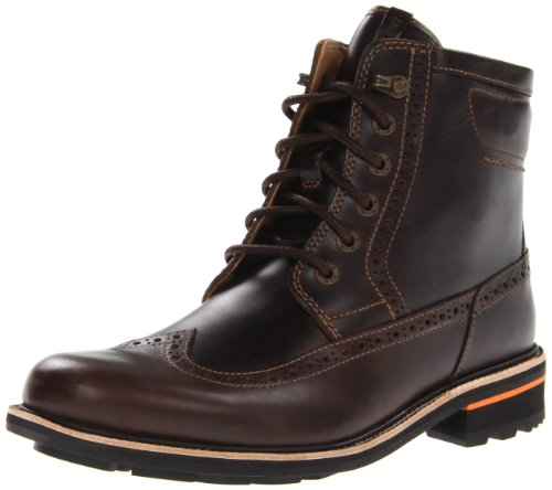 Rockport Men's Break Trail II Wing Tip Lace-Up Boot,Larch,14 M US