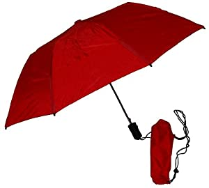 GustBuster Metro 43-Inch Automatic Umbrella (Red)