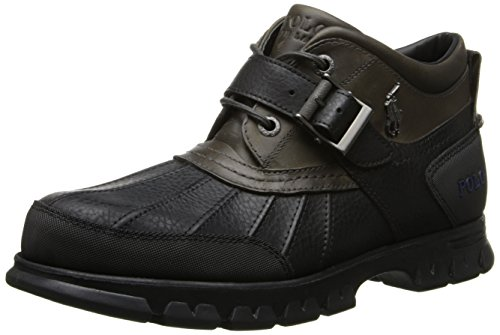Polo Ralph Lauren Men'S Dover Iii Boot,Black/Grey,9 D Us
