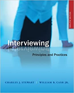 PRACTICES AND PRINCIPLES INTERVIEWING