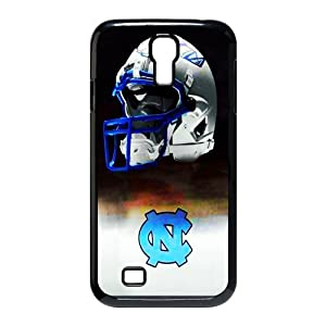 Sports 10 NCAA ACC UNC Tar Heels Combat Concept Helmet Print Black Case With Hard Shell Cover for SamSung Galaxy S4 I9500