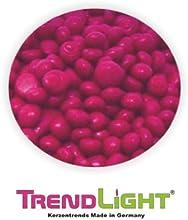 TrendLight - Pintura para teñir velas (1 kg), color azul
