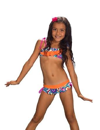 "Amazon.com: Chikolat Kids Beachwear Teens Girls 6-14 Bikini ""Nutmeg"