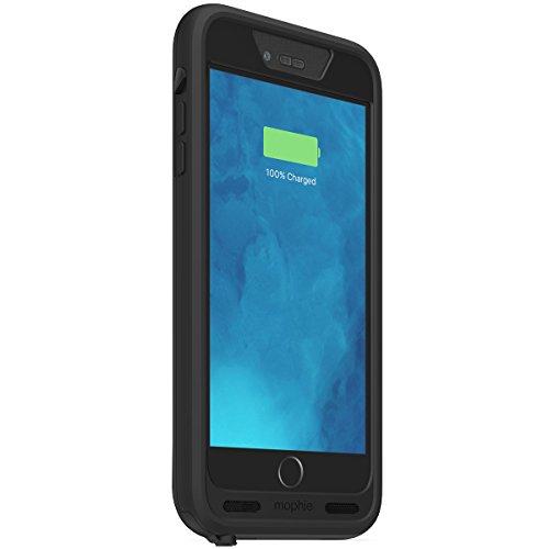 日本正規代理店品・保証付mophie juice pack H2PRO for iPhone 6s/6 Plus (5.5インチ) 防水バッテリーケース ブラック MOP-PH-000137