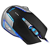 E-3lue E-Blue Mazer II 2500 DPI Blue LED Optical USB Wired Gaming Mouse For PC Laptop