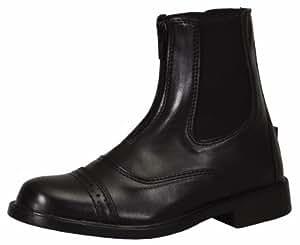 TuffRider Women's Starter Front Zip Paddock Boots, Black, 6