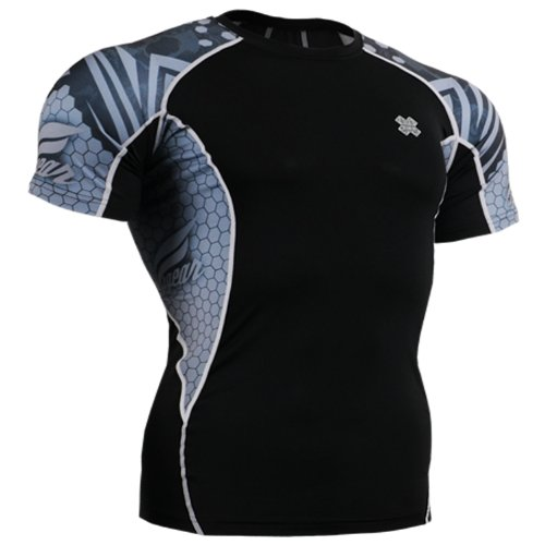 Fixgear Mens Womens Spandex Tight Baselayer Compression Running Shirts
