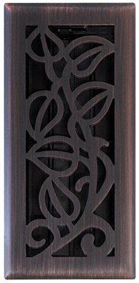 Imperial Manufacturing RG3279 4 x 10 in. Bronze Vine Floor Register (Imperial Vine compare prices)