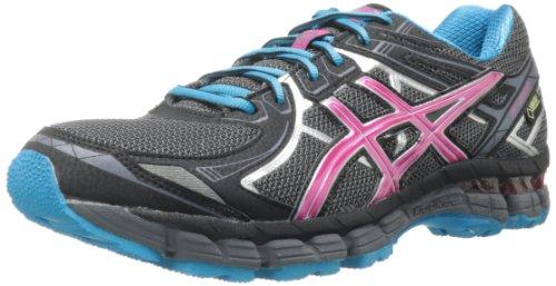 ASICS Women's GT 2000 2 G-TX Running Shoe,Titanium/Fuchsia Purple/Black,7.5 M US