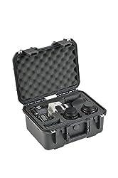 SKB Cases 3I-13096SLR1 SKB iSeries Camera Cases for DSLR with Attached Lens, Lens Pockets and Accessories (Black)