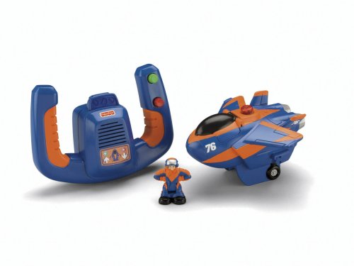 Cheapest Fisher Price Remote Control GeoAir Plane Blue Flash and Dynamo Dan