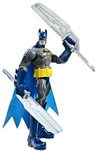 Batman Power Attack Mission Twin Blades Batman Figure