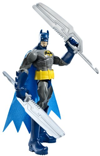 Batman Power Attack Mission Twin Blades Batman Figure