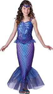 InCharacter Costumes, LLC Mysterious Mermaid, Bue/Purple, Medium