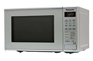 Panasonic NN-K181MMBPQ 20 Litre Compact Microwave with Grill, Silver