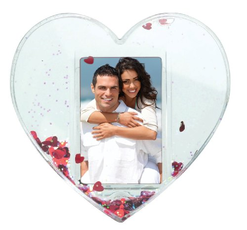 Heart Photo Snow Globe (Snowglobe Photo Insert compare prices)