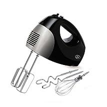 Oster 2577 6-Speed 250-Watt Hand Mixer Black/Stainless