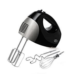 Oster 2577 6-Speed 250-Watt Hand Mixer, Black/Stainless