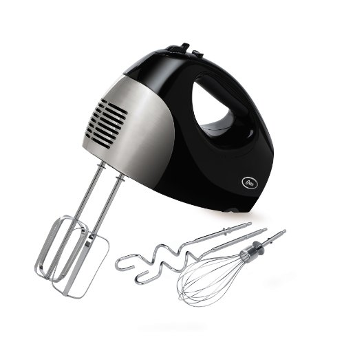 Oster 2577 6-Speed 250-Watt Hand Mixer, Black/Stainless (Beater Oster compare prices)