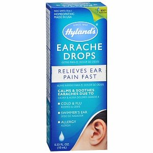 Hylands Homeopathic Earache Drops Adult Child 33 Oz