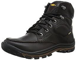KEEN Men\'s Anchor Park Boot Wp Casual Boot, Brown Full Grain, 7.5 M US