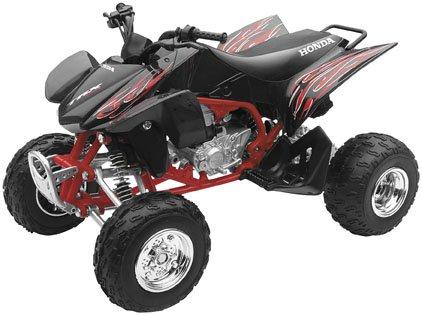 New Ray Toys Honda TRX450R 1:12 Scale ATV Black 42867B