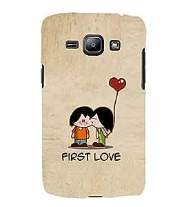 EPICCASE cute love Mobile Back Case Cover For Samsung Galaxy J1 (Designer Case)