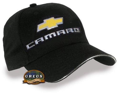 Camaro Bowtie Hat with Metal Logo (Apparel Clothing)