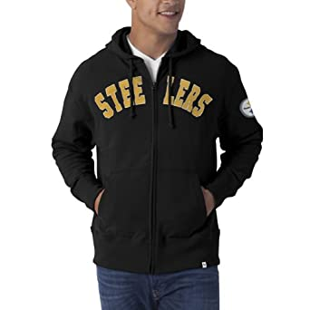 NFL Pittsburgh Steelers Mens Striker Full Zip Jacket by