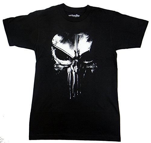 Marvel The Punisher Dirty Skull T-shirt - X-Large