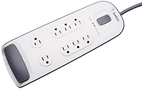 Best Prices! Belkin 8 Outlet Surge Protector with Telephone Protection
