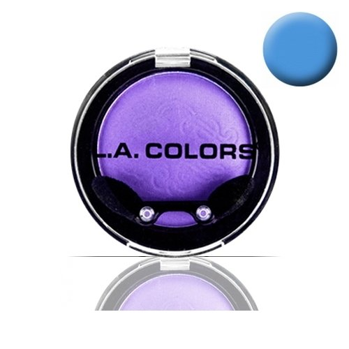(3 Pack) La Color Eyeshadow Pot - Electric Blue