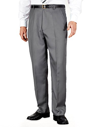 mens-quality-formal-smart-casual-work-trousers-home-office-grey-54w-x-33l