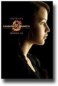 Hunger Games Poster - Promo Flyer 2012 Movie - 11 X 17 - Jennifer Lawrence Katniss