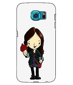 Astrode Printed Designer Back Case Cover For Samsung Galaxy S6