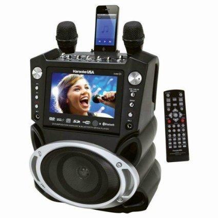 Karaoke USA GF830 Karaoke System with 7 - Inch