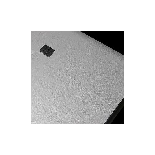 HP 6730B Laptop Cover Skin [White Learther]