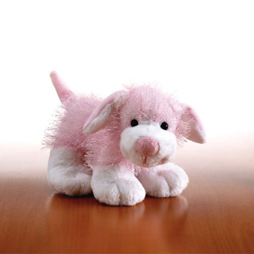 Pink and White Dog Webkinz Retired