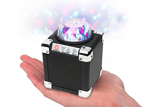 Ion Audio Party On Ultra-Compact Bluetooth Speaker with Built-In Party Lights