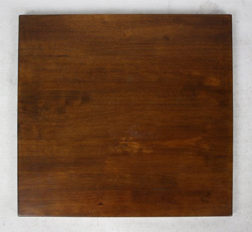 "Walnut Solid Wood Tabletop - 24"" X 42"" (1.25"" thickness)"
