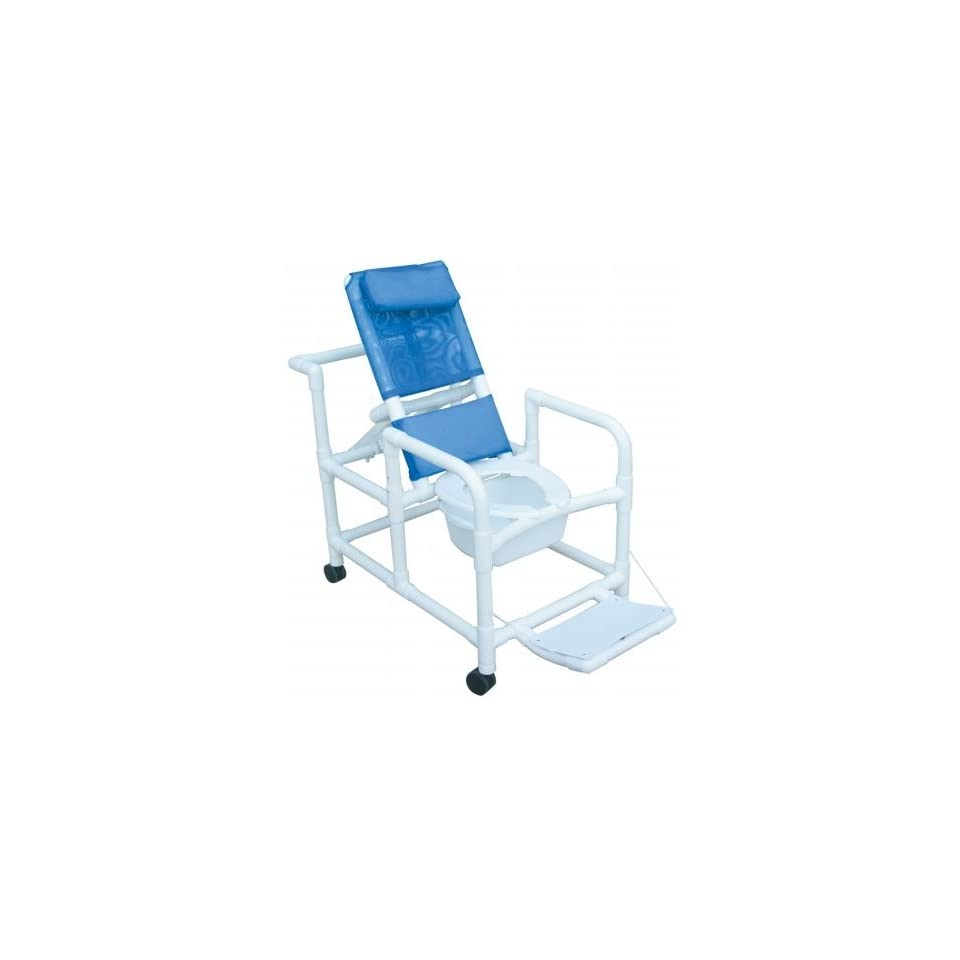 MJM International E195 3TW SQ PAIL Echo Reclining Shower Chair