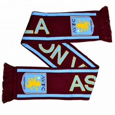 Aston Villa Crest sciarpa
