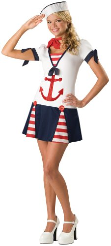 In Character Costumes - Sassy Sailor Teen Costume