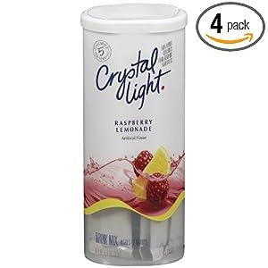 Amazon - 4-pack of Crystal Light Raspberry Lemonade Mix - $6.62