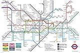 London Underground Map - Maxi Poster - 61 cm x 91.5 cm