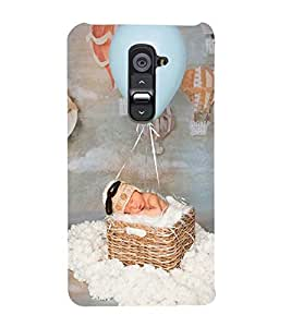 Vizagbeats baby baloon ride Back Case Cover for LG G2::LG G2 D800 D980